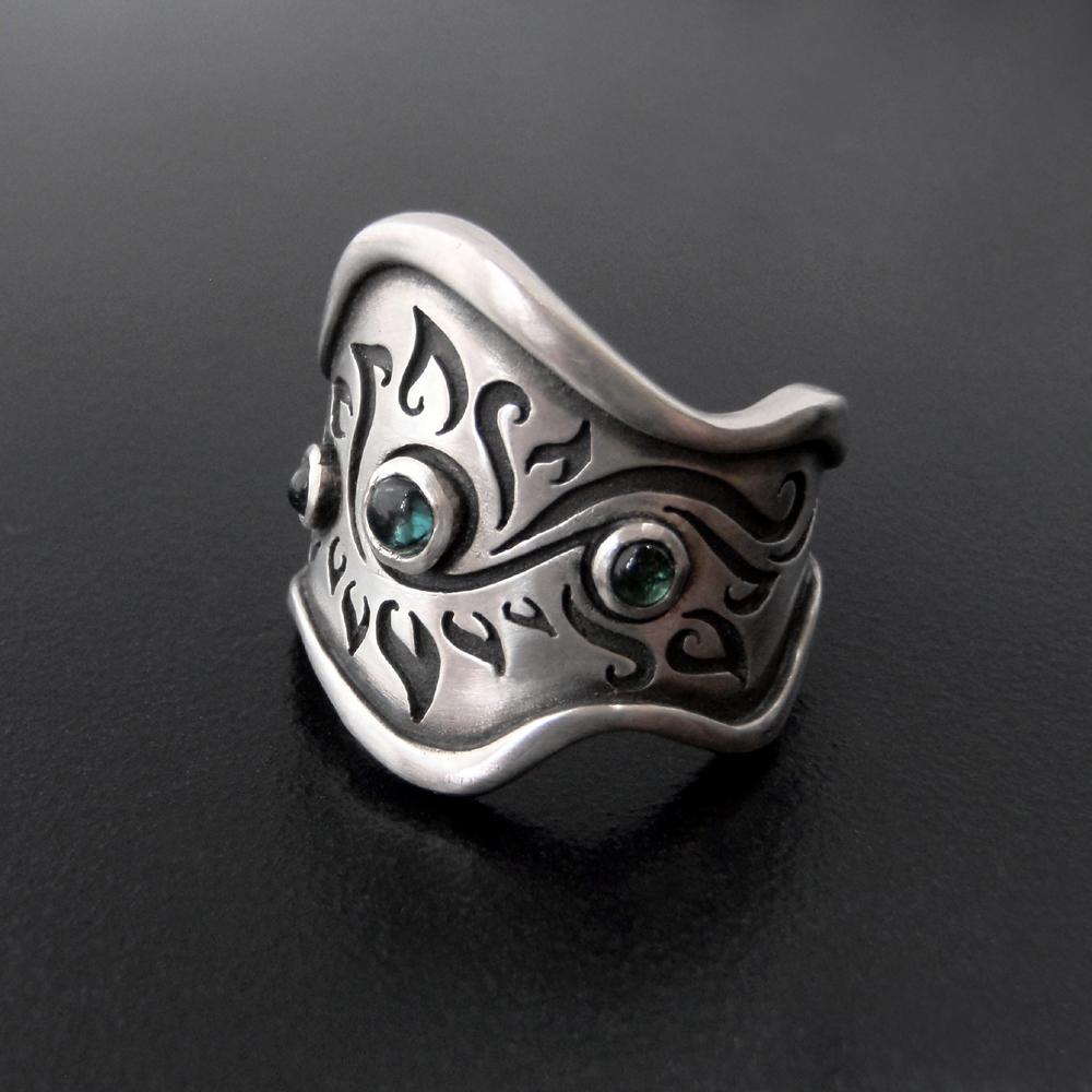 Wavy Flame Ring by Abi Cochran