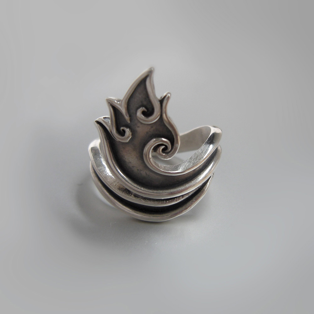 Flame Ring by Abi Cochran
