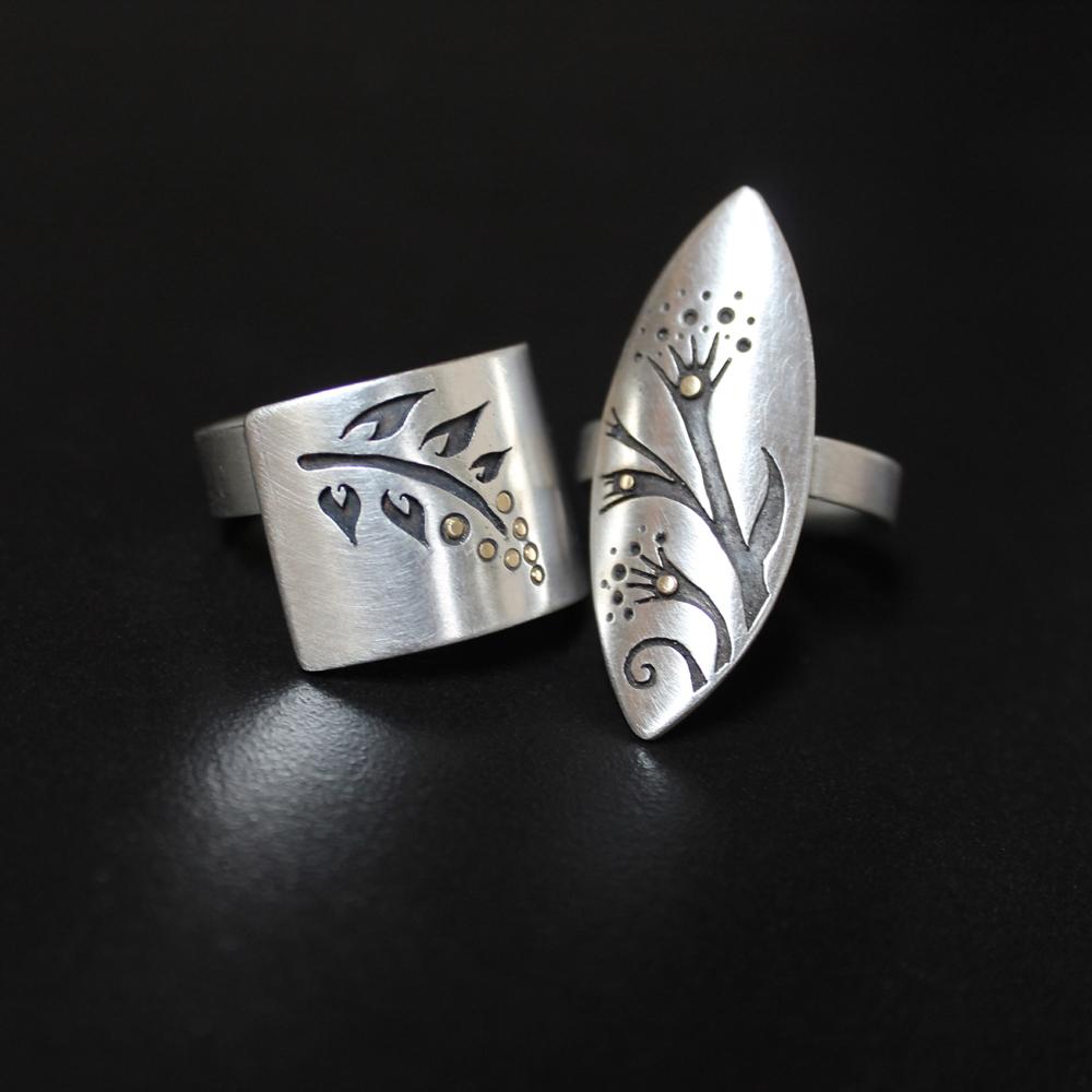 Rings by Abi Cochran