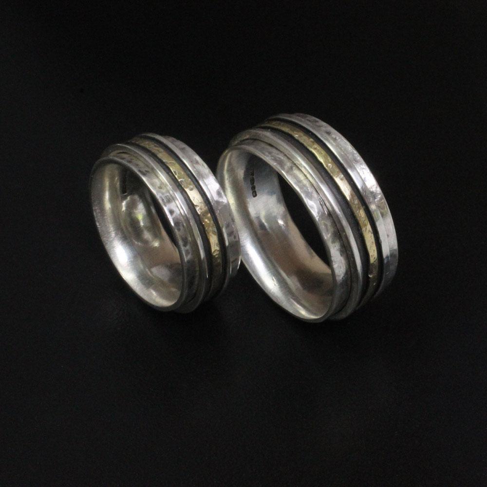 Spinner Rings by Abi Cochran