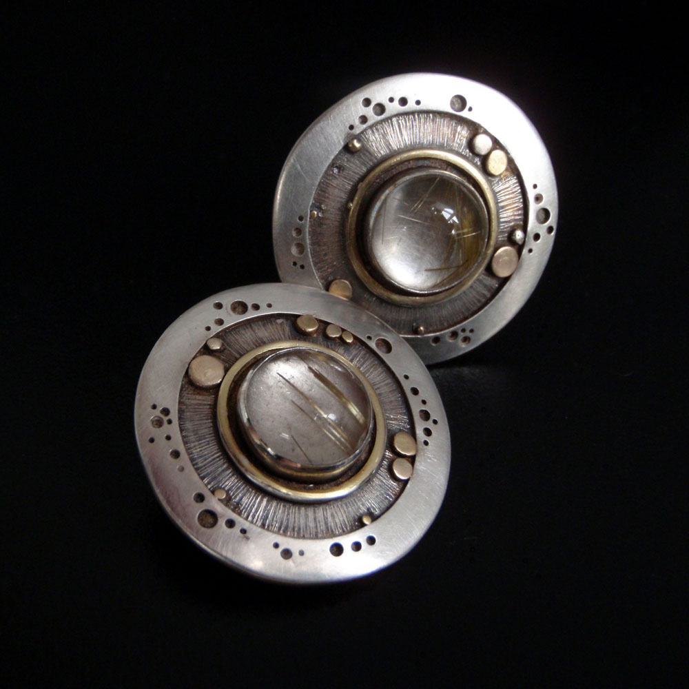 Earrings by Abi Cochran
