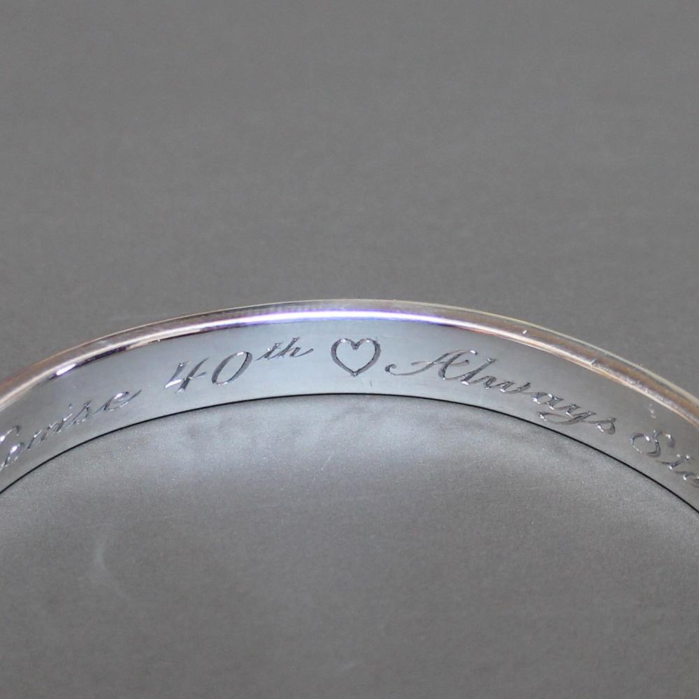 Bracelet Engraving by Steven Robinson