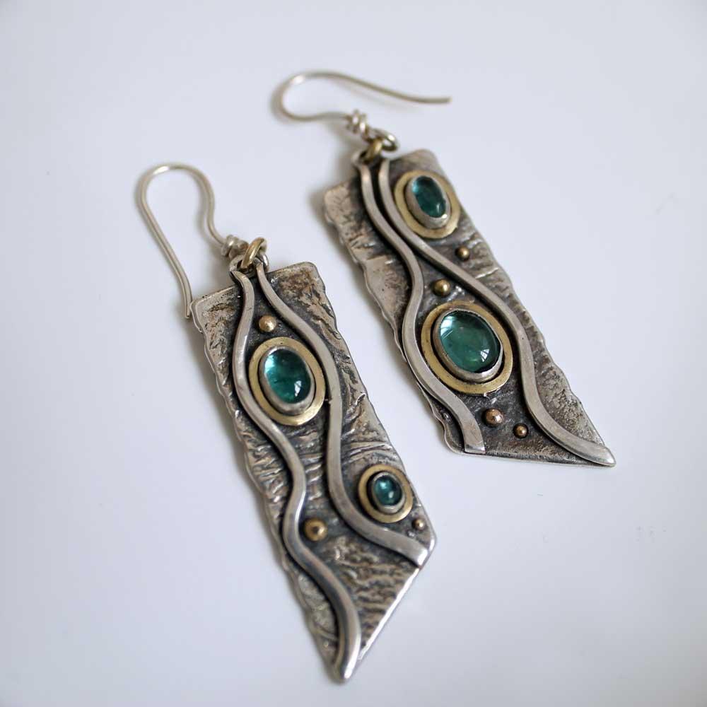 Mountain River Earrings