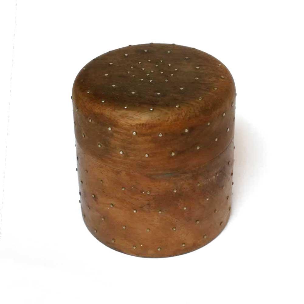 Wooden Pique Pot