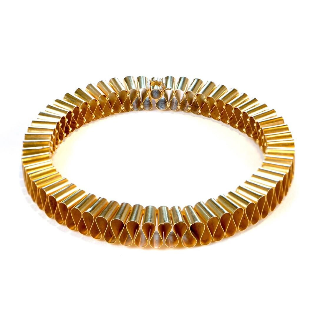 Gold Ruff Neckpiece owned by Goldsmith's Company