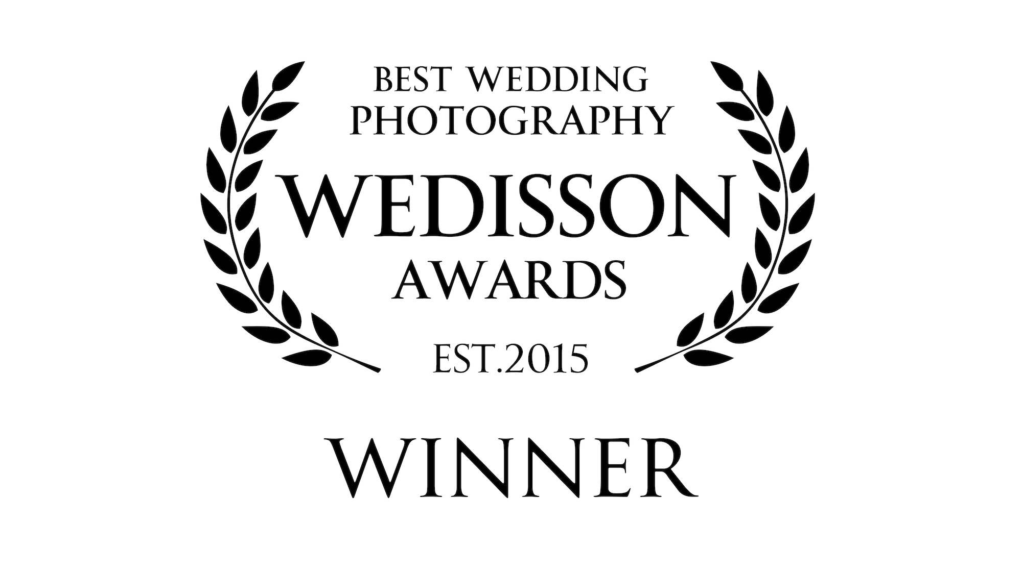Incredibly proud to have won a Wedisson Award for Best Wedding Photography for three of my recent images -
