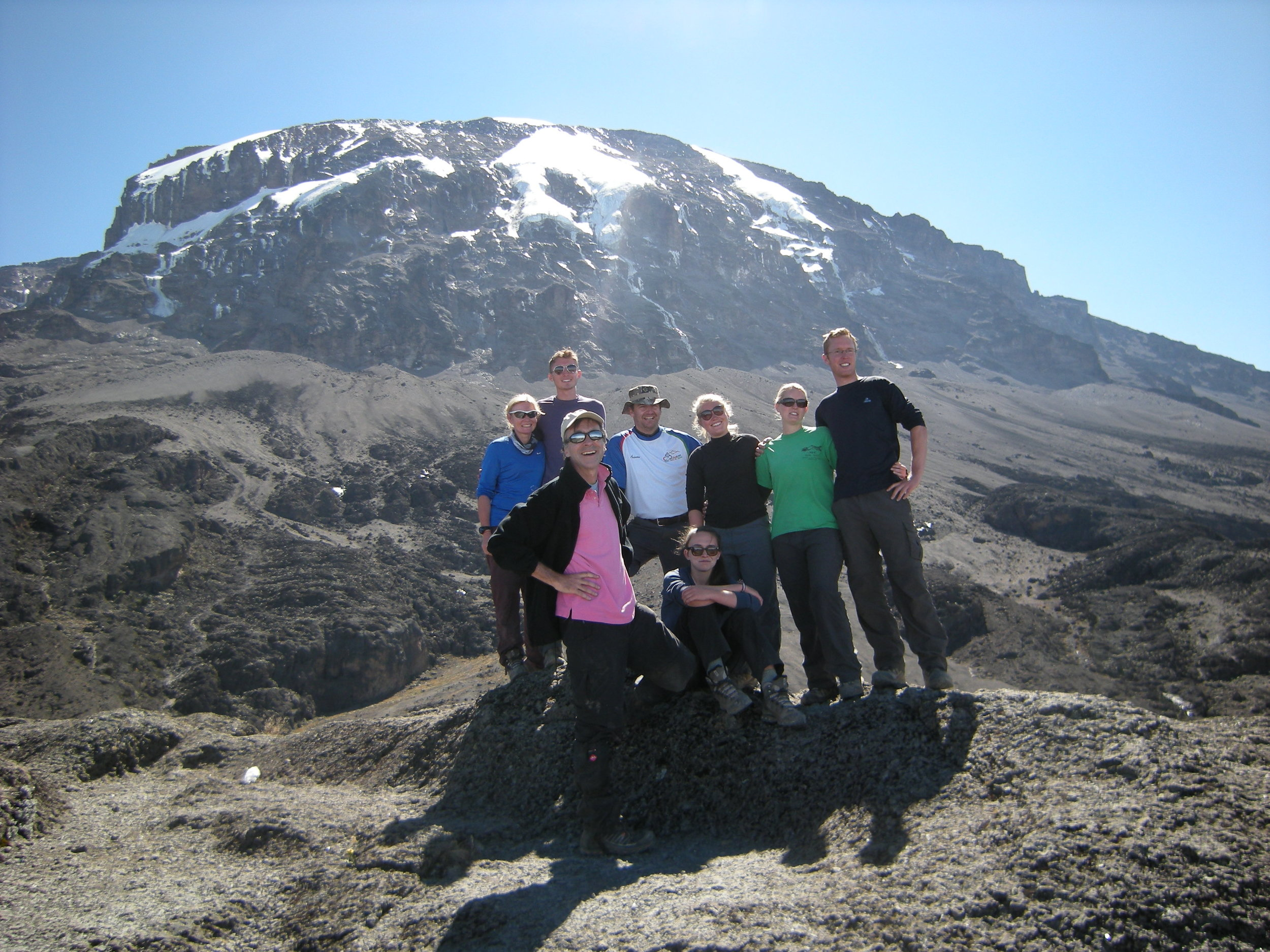 Climbing Kilimanjaro for Livingstone Tanzania Trust