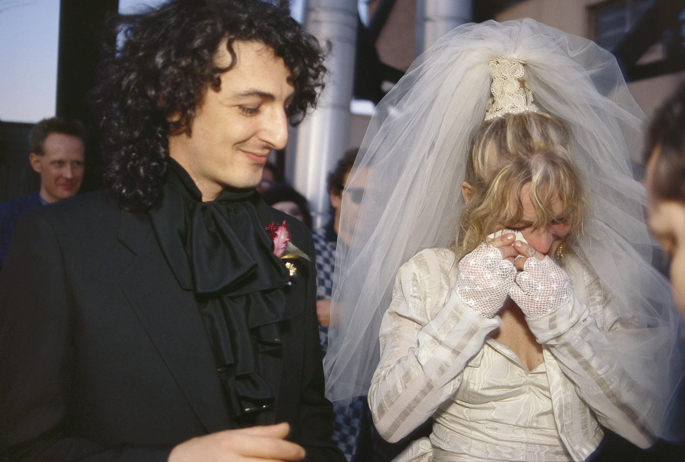 Nan Goldin, Cookie and Vittorios Wedding, New York, 1986