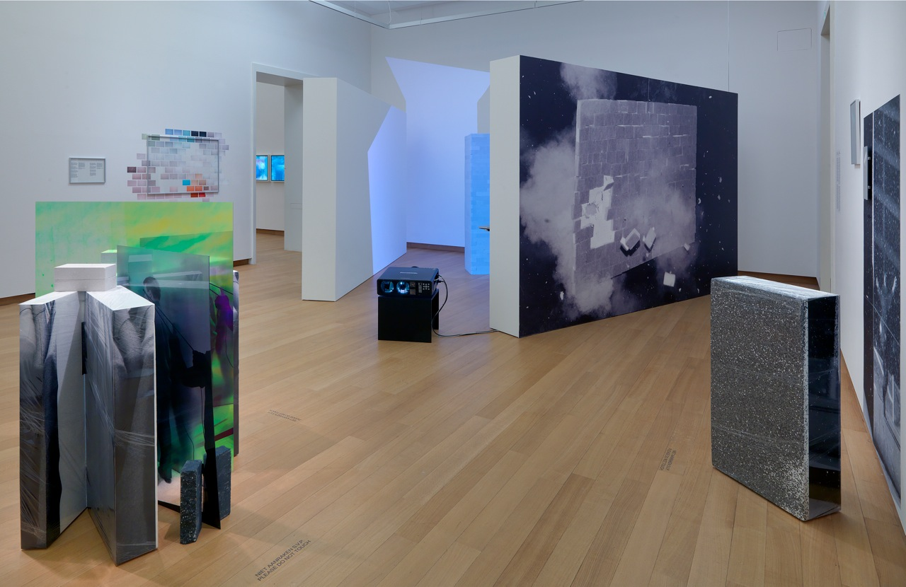 Within Interpretations of a Wall ., Installation Overview.  Stedelijk Museum, 2014