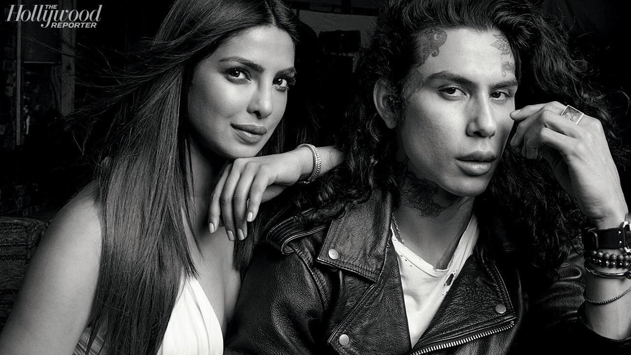 Priyanka Chopra & Castillo by Blossom Berkofsky for Hollywood Reporter