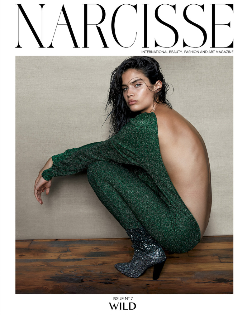 NARCISSE Issue No 7 cover photographed by Alex Cayley