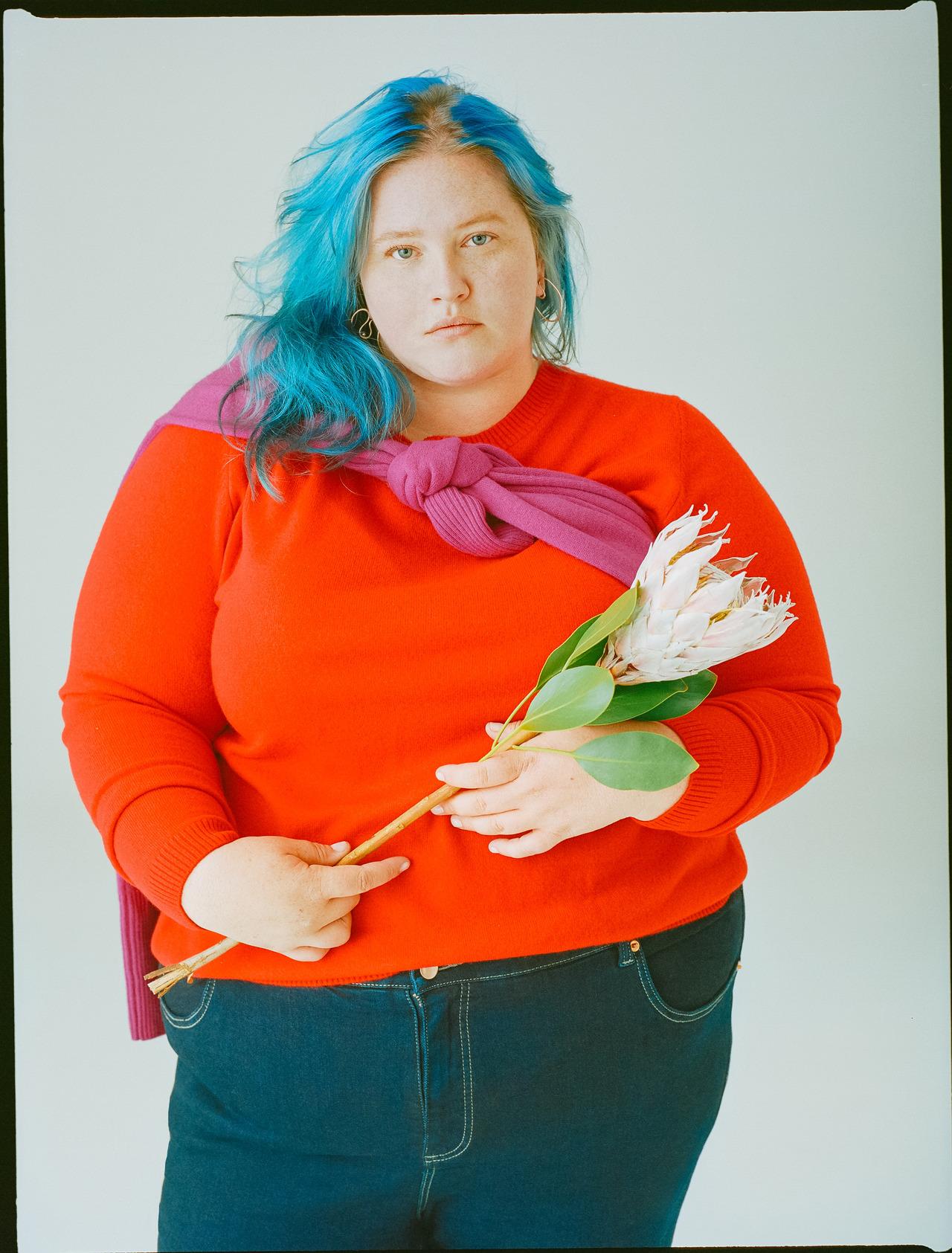 Photographer Tiffany Dawn Nicholson for Universal Standard Advertorial.