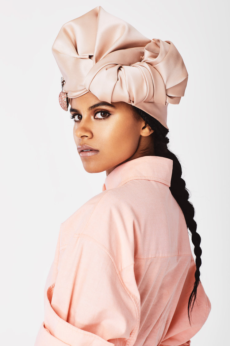 Zazie Beetz by Colette Aboussouan for The Cut / NY Mag.