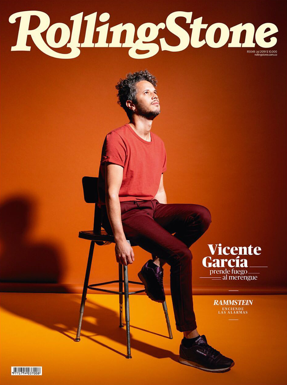 Musician Vicente García Photographed by Ebru Yildiz on the Cover of Rolling Stone Columbia.