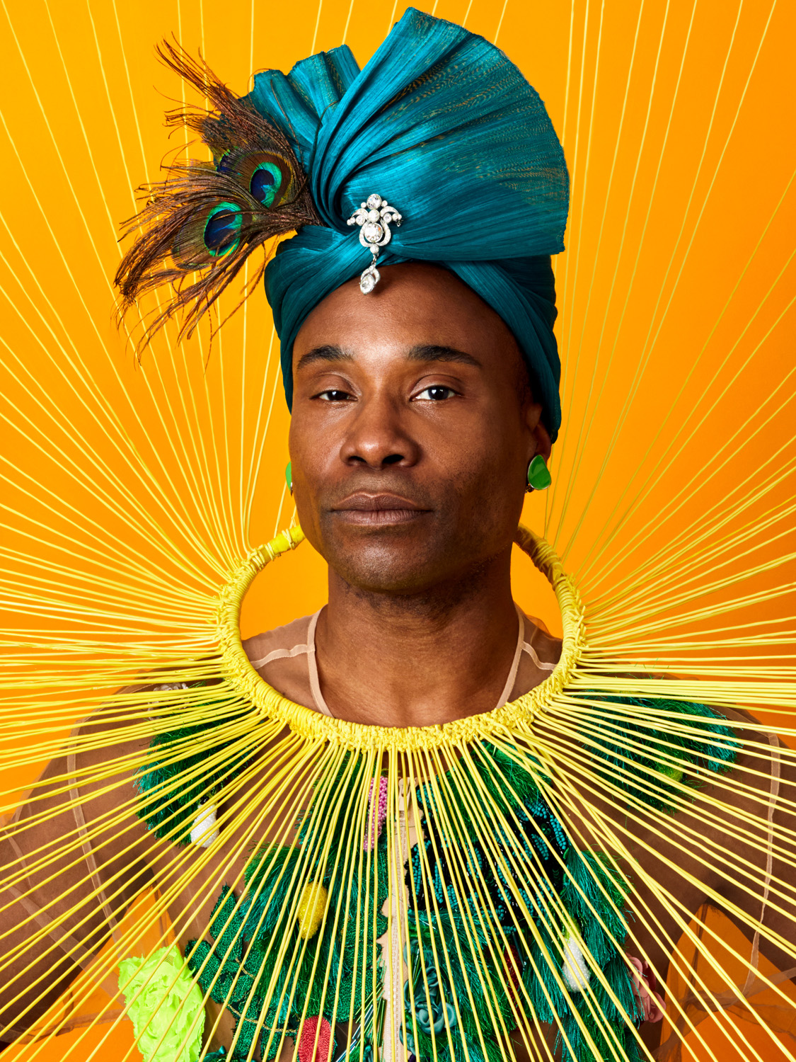 Billy Porter Photographed by Winnie Au for Bust Magazine.