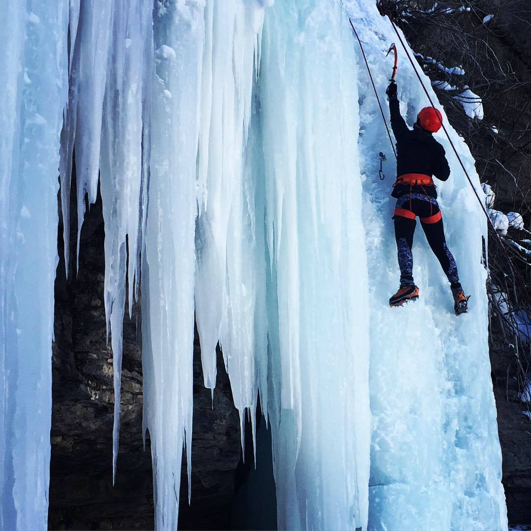 Ice Climbing in Vail, Colorado with First Descents