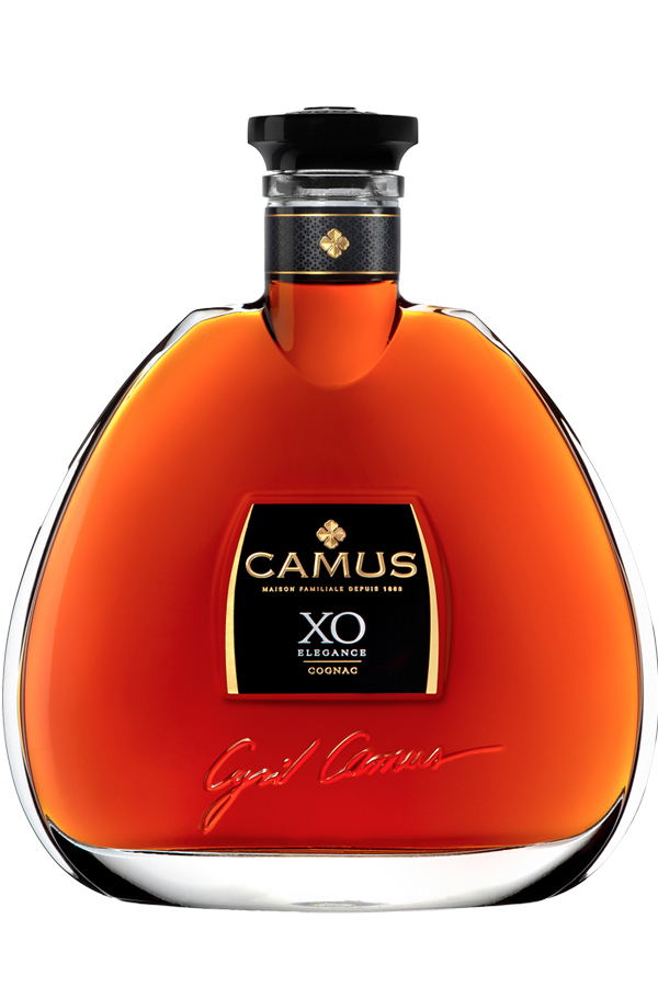 The age of harmony     Creating CAMUS XO Elegance requires years of meticulous work. The process starts with the careful selection of different styles of hugely rich eaux-de-vie from all six of the Cognac crus (Borderies, Petite Champagne, Bons Bois, Grande Champagne, Fins Bois, Bois à Terroirs).    The presence of the Borderies cru among these eaux-de-vie gives the Cognac a rounder flavor and greater aromatic length. Long aging in cool, damp cellars ensures that each barrel gains a perfect level of maturity. A meticulous blending process finally reveals the Cognac's personality in all its glory: a myriad of complex, harmonious aromas.    Best enjoyed in a tulip glass, either straight or mixed with a dash of mineral water. A serving temperature of 17-20°C is recommended to fully appreciate XO Elegance.