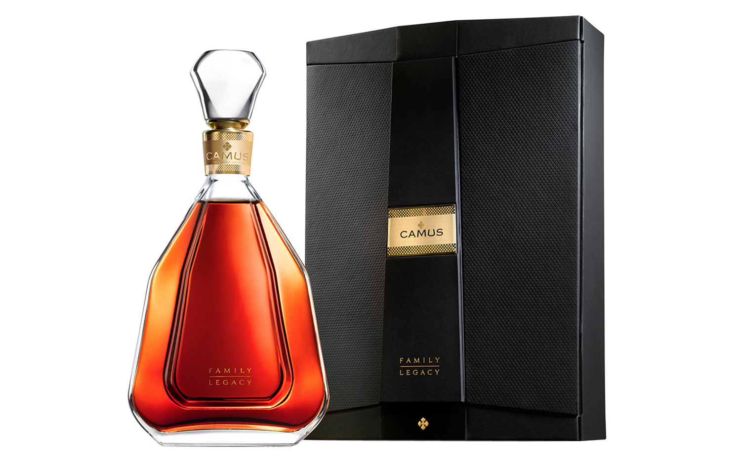 As Cyril CAMUS often says, a great Cognac is born of a father, a grandfather and a great-grandfather who were able to pass on an ancient culture of the art of distillation and aging, whilst each adding their own personal touch.    Family Legacy is the latest addition to the CAMUS family. The most remarkable feature of this Cognac is the way its creators methodically, patiently and subtly adhered to the ancestral rules of perfect blending, a legacy of five generations of accumulated expertise, recorded for posterity in notebooks since the 19th century.    8 consecutive blends are required to produce Family Legacy and thus attain the perfect degree of 40.8% vol.