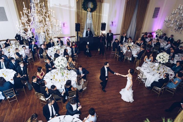 Grace & Ali wedding at 3 West Club by Unveiled-Weddings.com