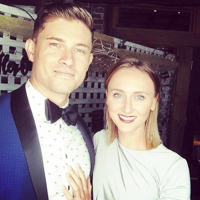 #blacktie wedding with my favorite wedding date #fashionablylate