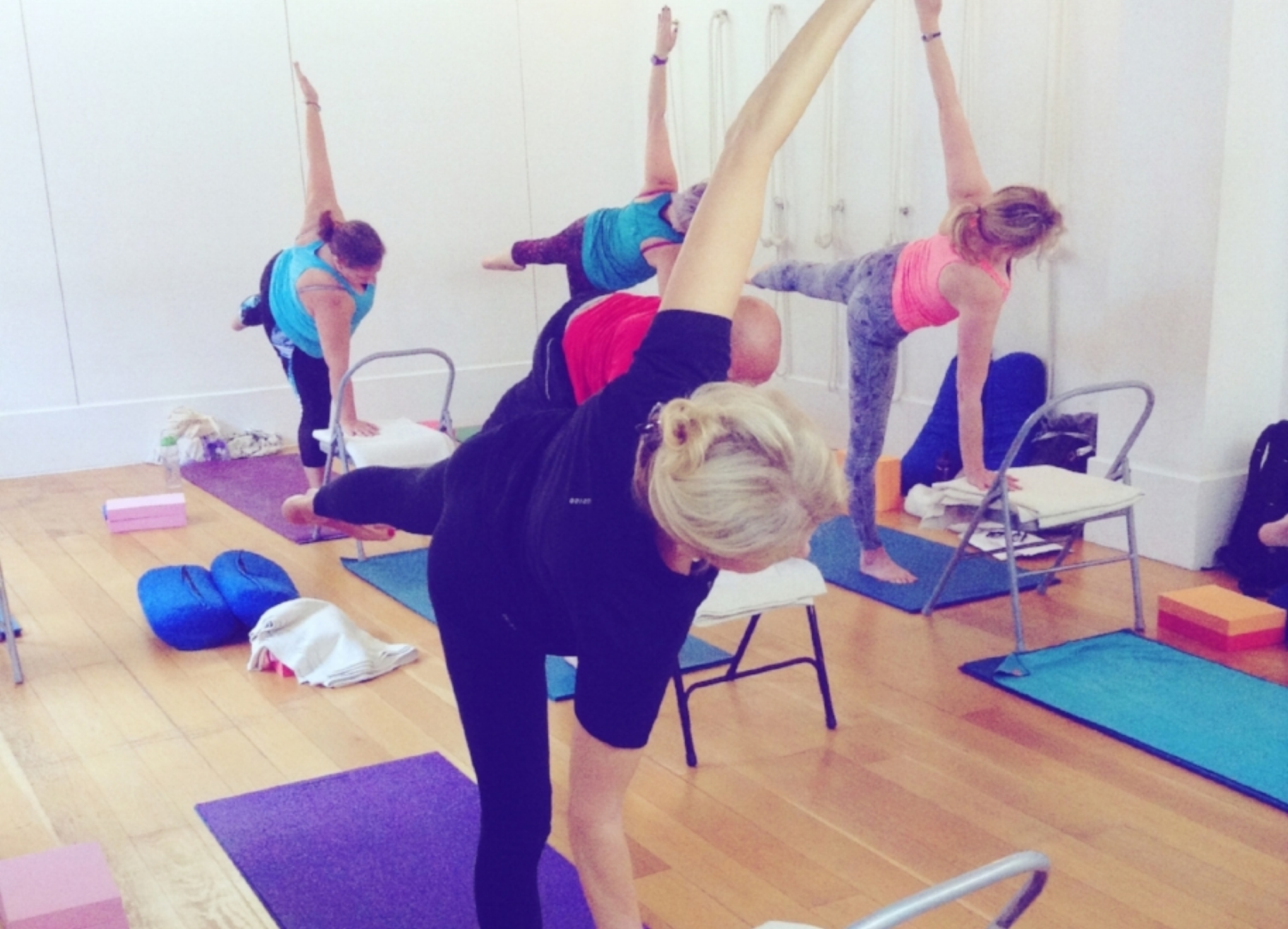 Professional Therapeutic Yoga Courses - UK & EUROPE