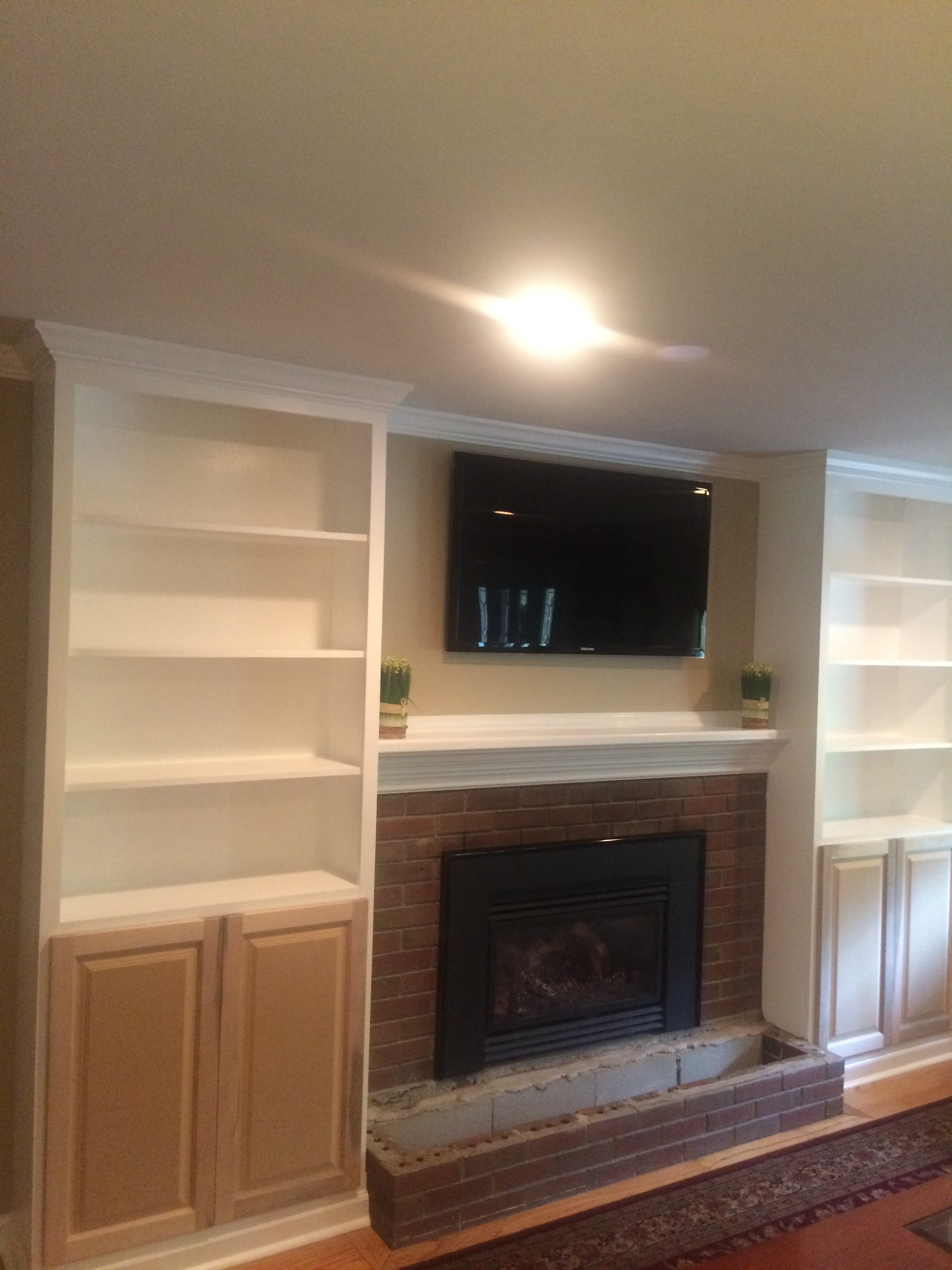 In progress - Custom built ins