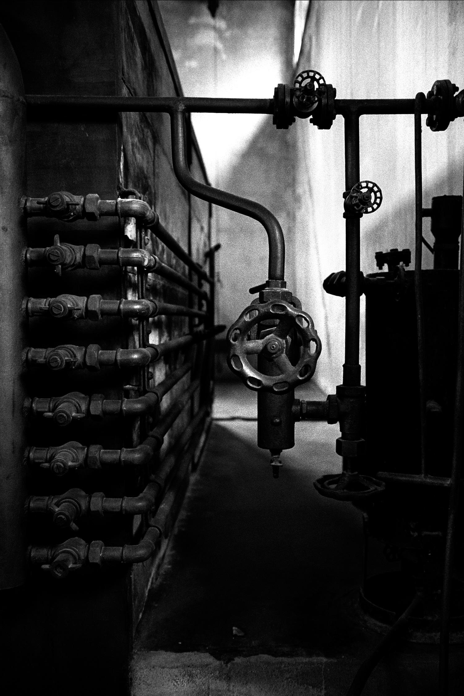 Gas Valves, Crematoria