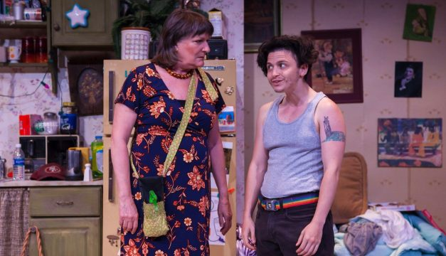 Marcia Saunders and Eppchez! in Hir at Simpatico Theatre. (Photo by Daniel Kontz)
