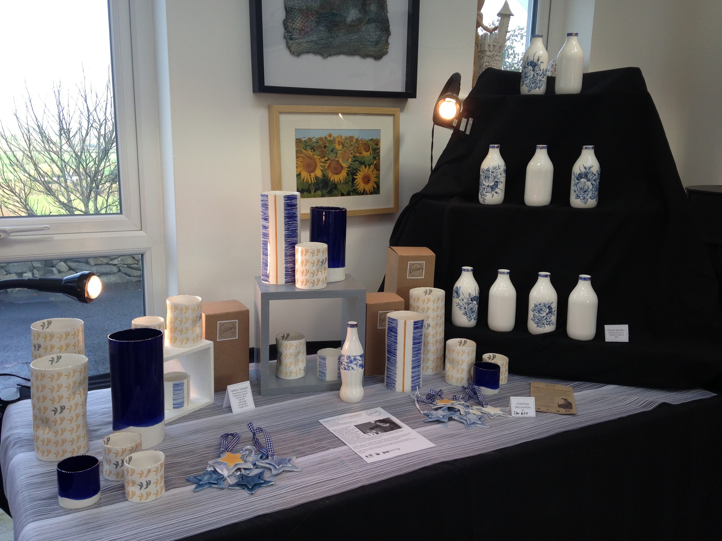 Christmas fair at Mount Ida Pottery