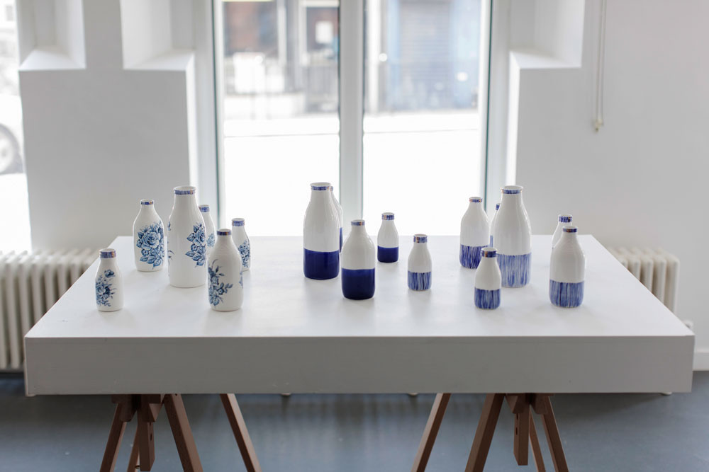 Rebecca Killen Ceramics - Cobalt Bottles