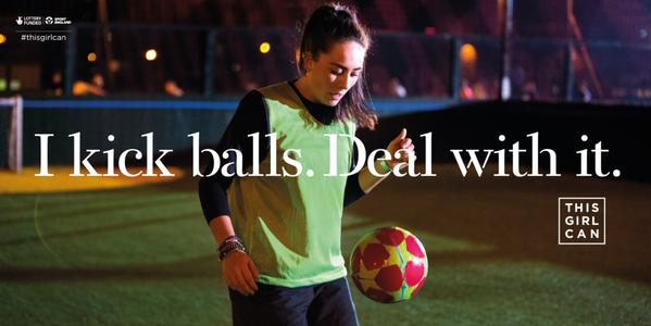 Courtesy of the #thisgirlcan campaign.  Click to visit their site: http://www.thisgirlcan.co.uk/