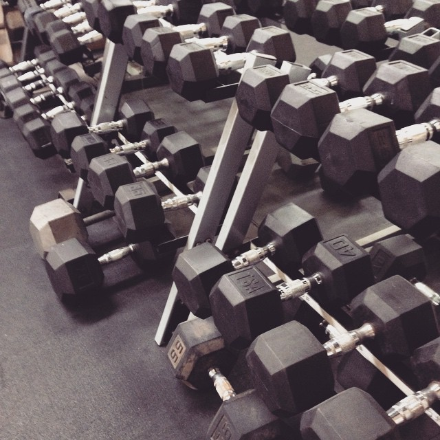 Guess I'll be getting cozy with these guys now. - Super Balanced Life - Eyes on Your Own Barbell