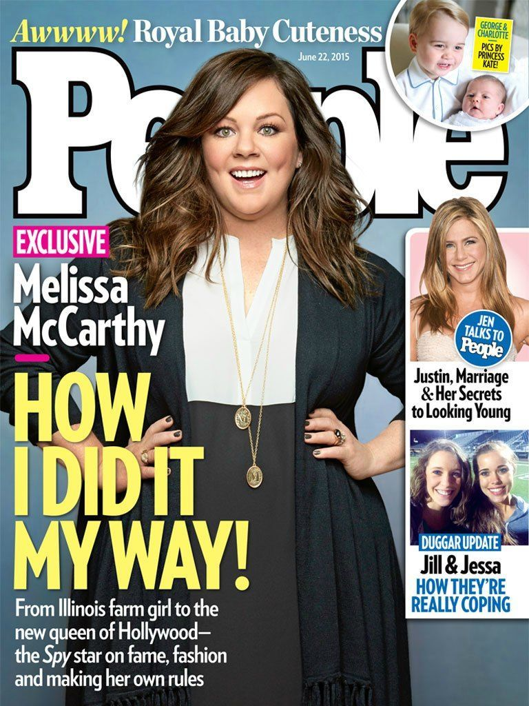 Melissa McCarthy on People Magazine