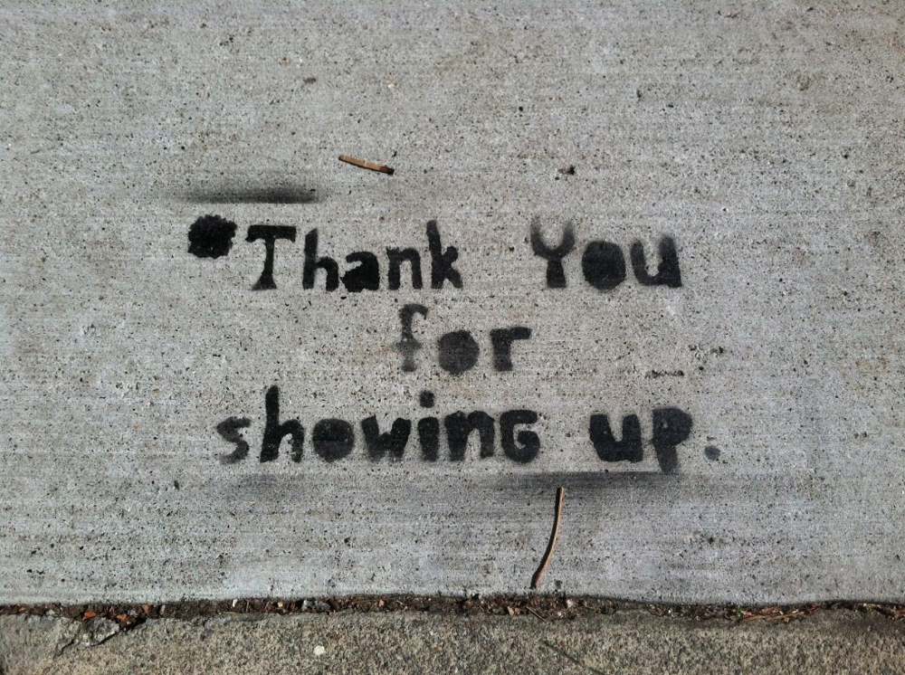 Showing Up - What does your activism look like? - superbalancedlife.com