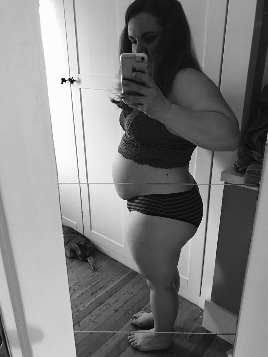 My post-partum body, 1 year later - superbalancedlife.com