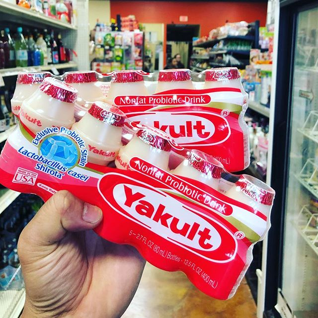 Who grew up on this stuff?  #notthefakestuff #realthing #yakult #orlando