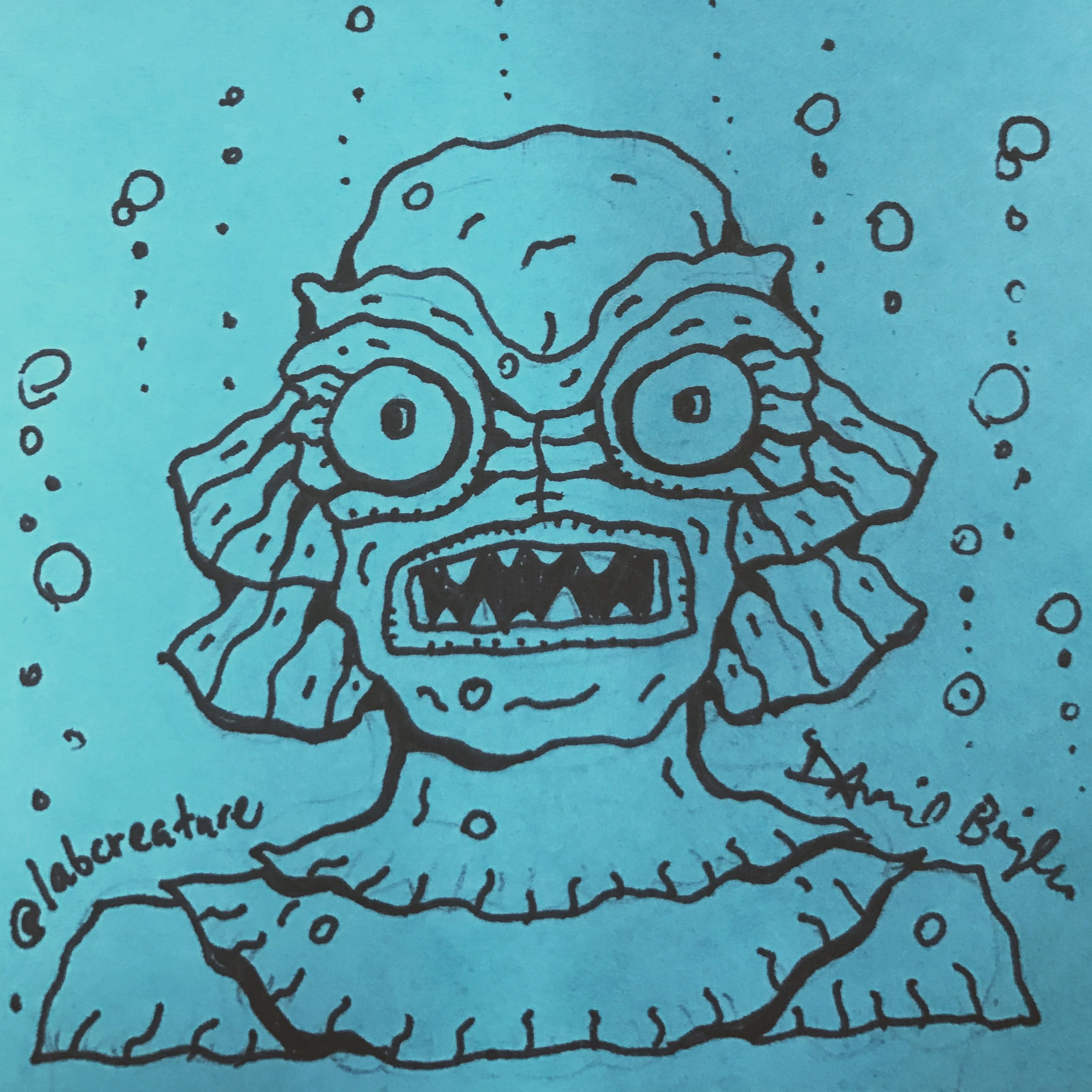 Creature from that Black Lagoon by David Bigler