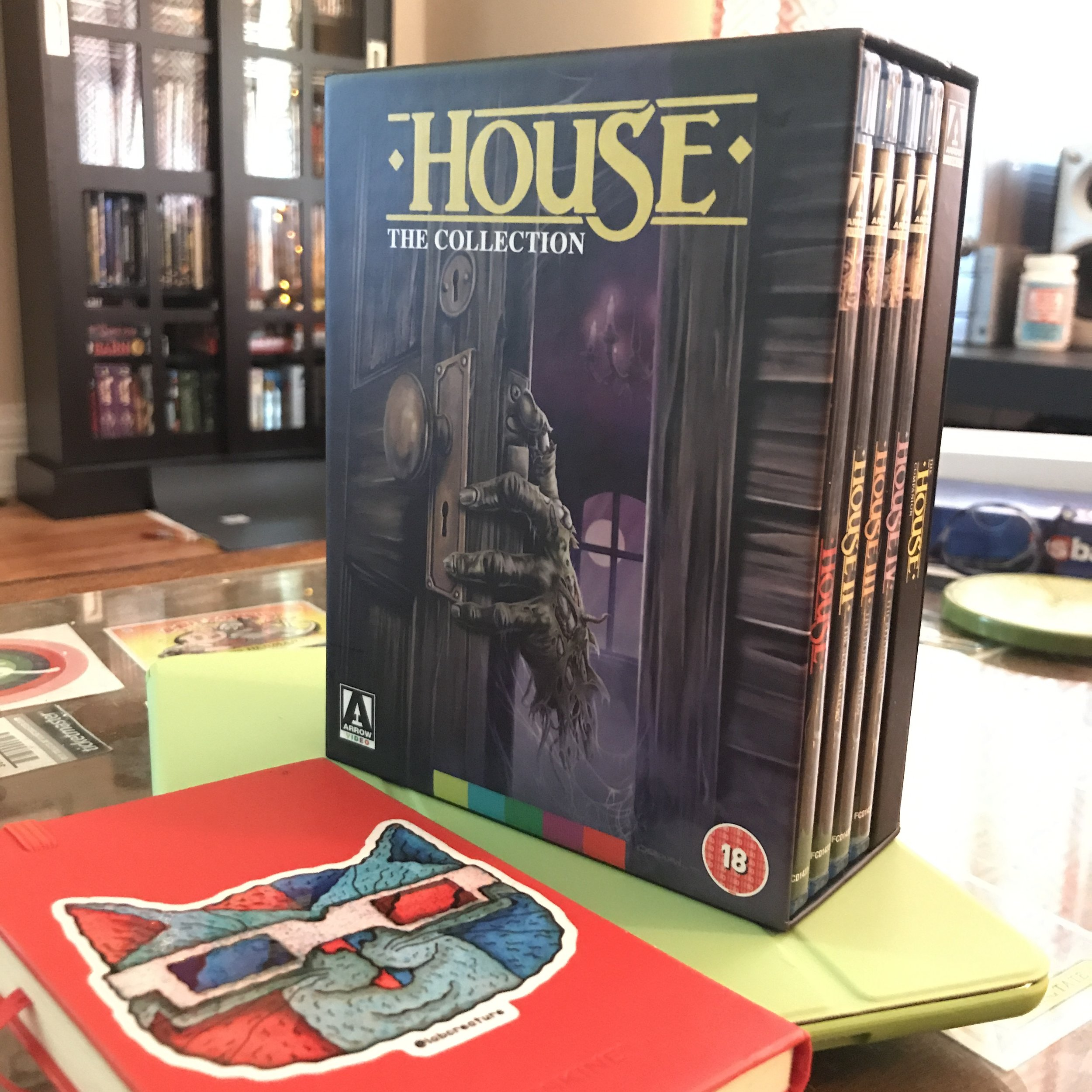 Arrow Video's U.K. Blu-ray HOUSE I-IV box set