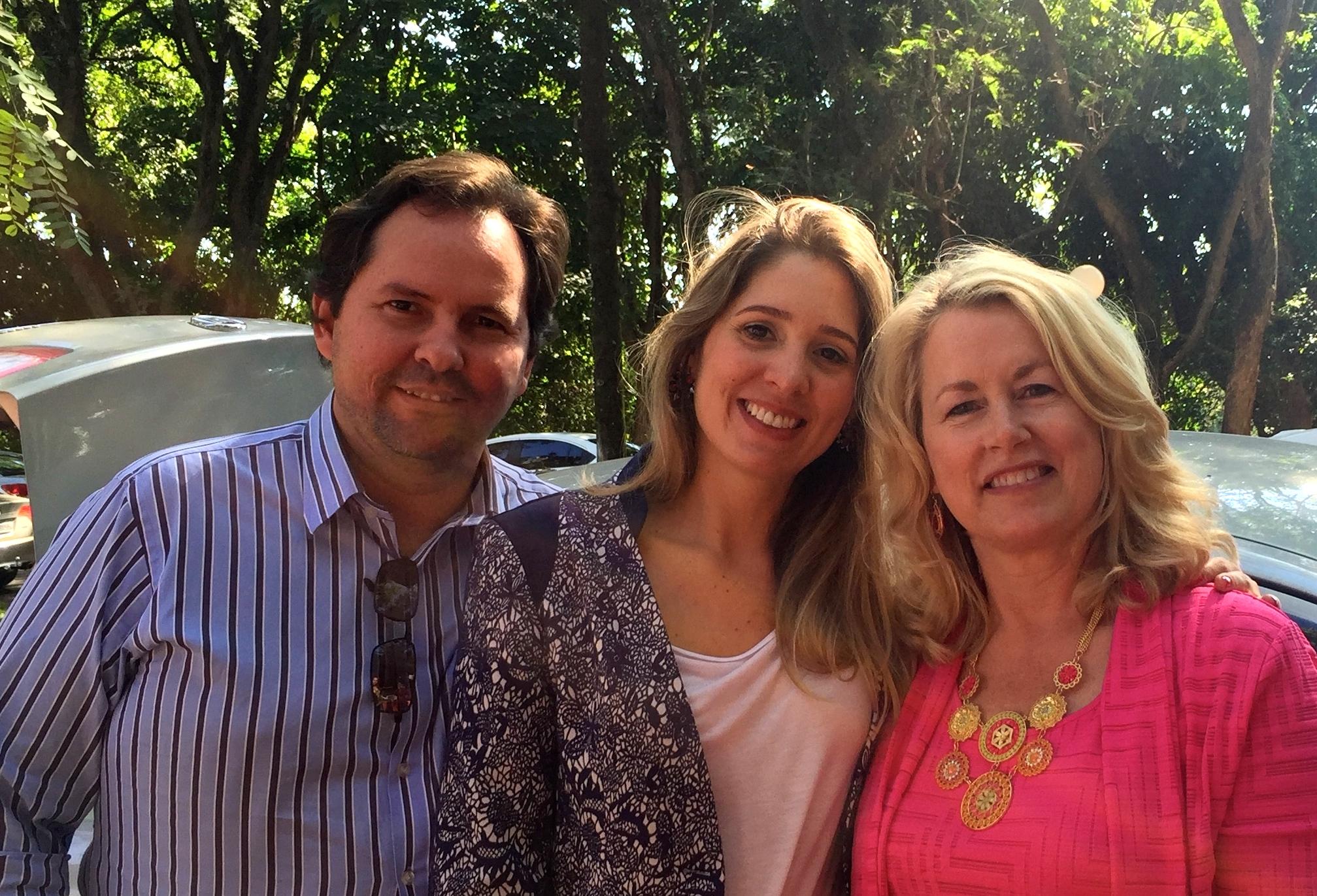With Pastor Saulo Stratico Jardim and wife Jacqueline, Igreja do Nazareno Jardim Elite, Piracicaba, Sao Paulo, Brazil