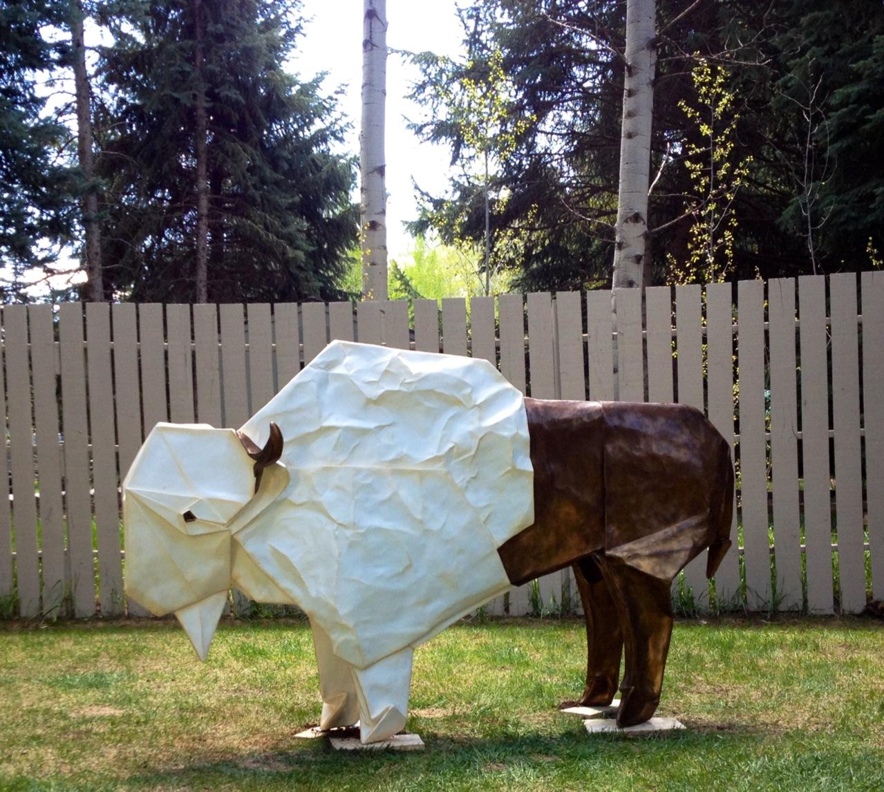 White Bison Monument