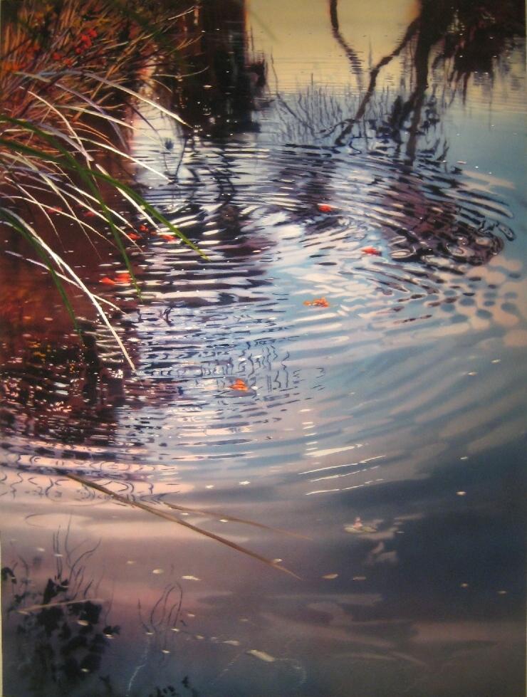 '' Reeds Over Shoreline''I.jpg