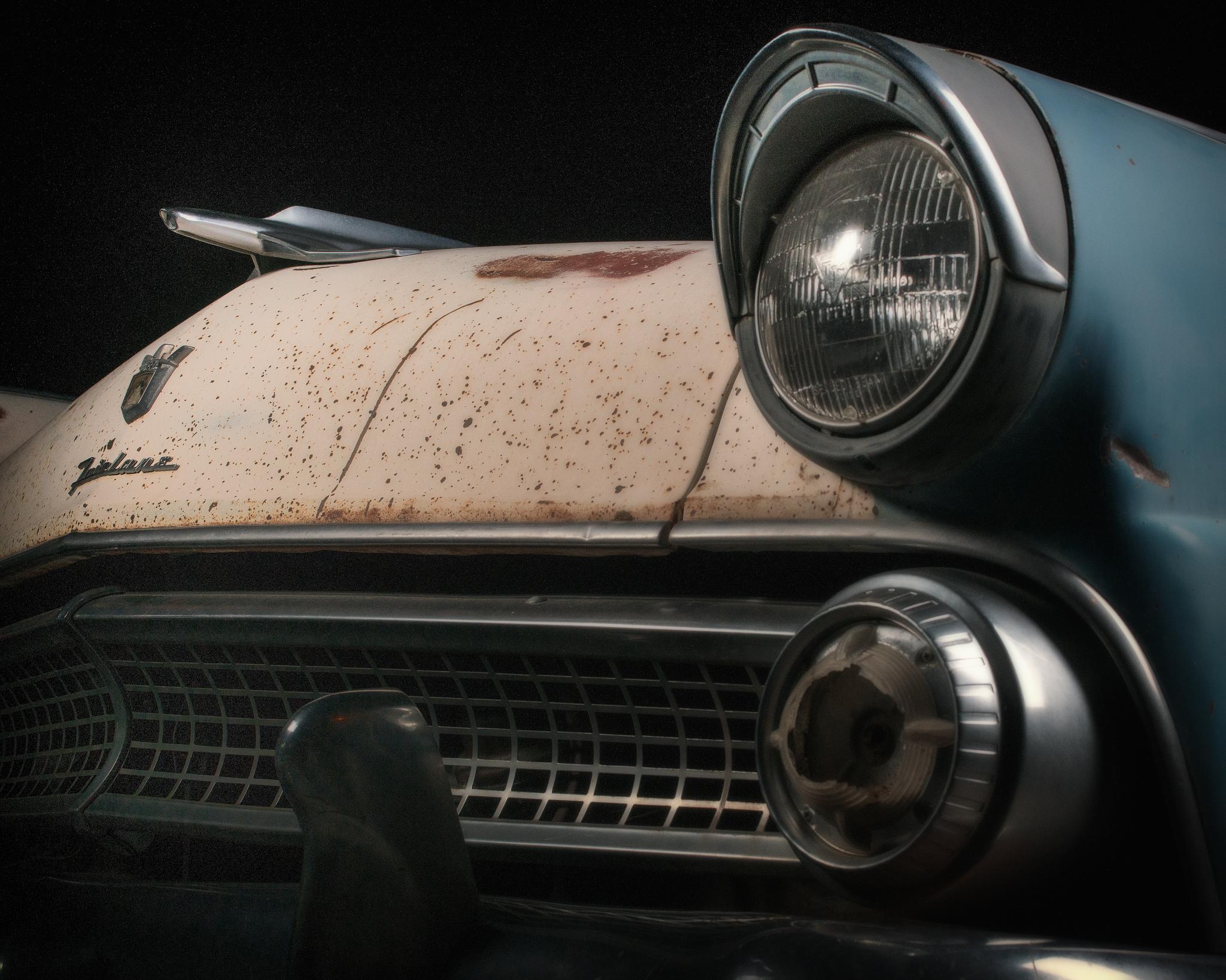 1955 Ford Fairlane Club Sedan #2