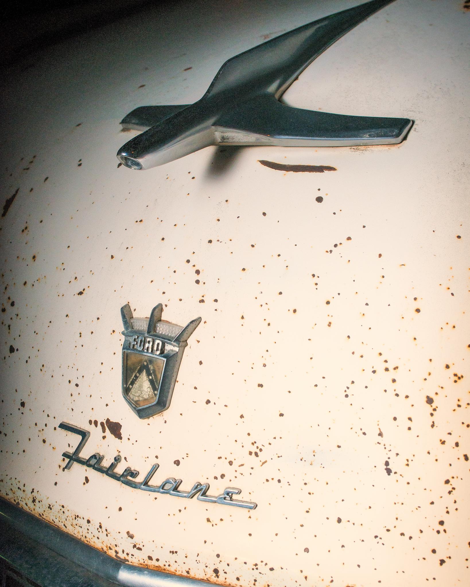 1955 Ford Fairlane Club Sedan #1