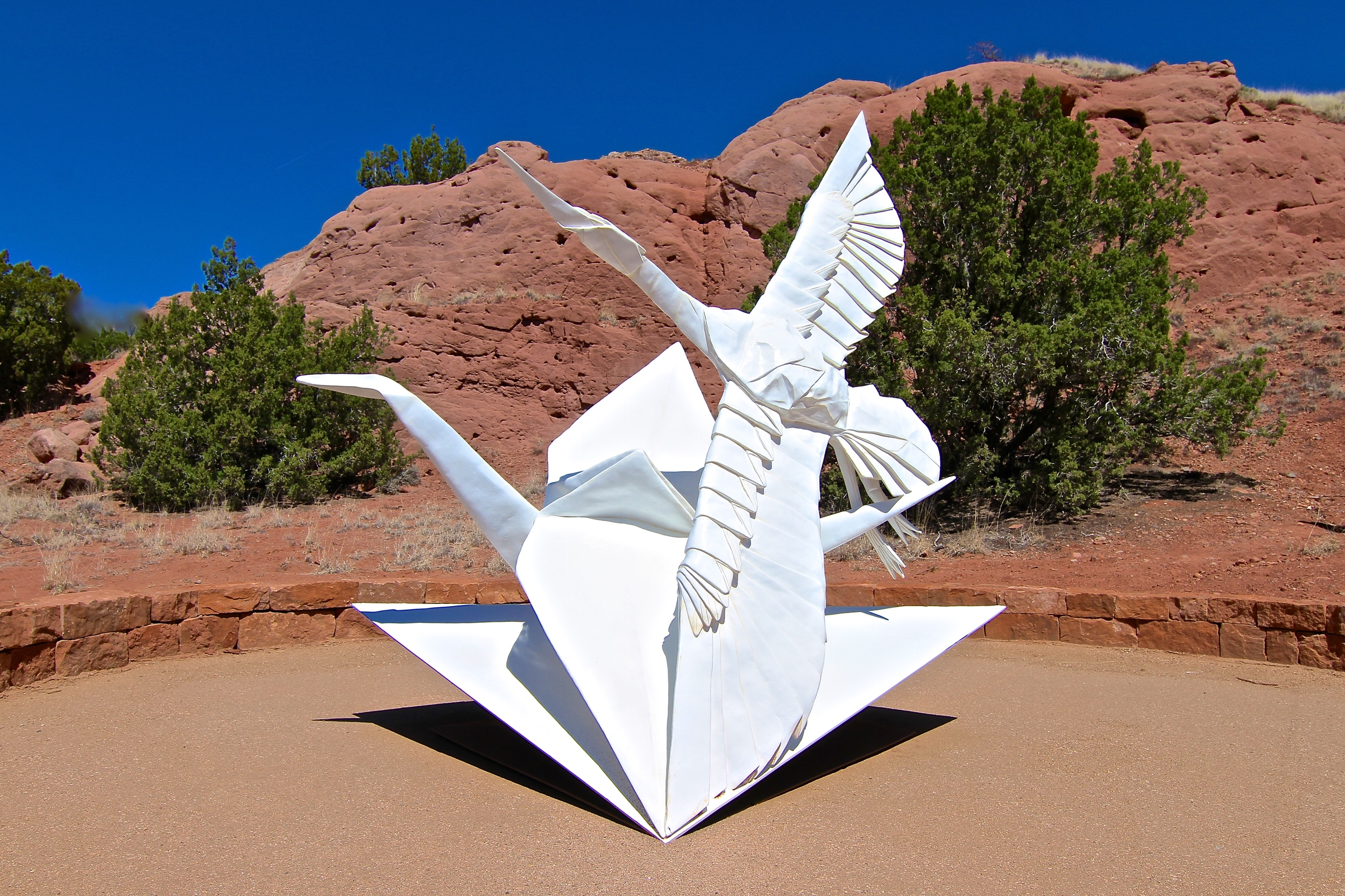 Flight of Folds Monument
