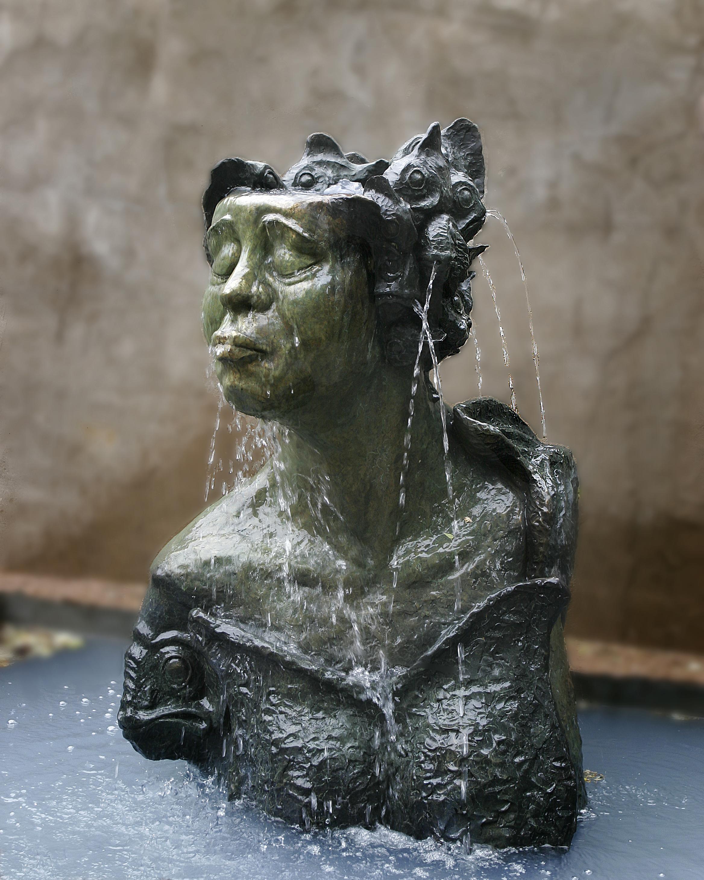 Fish Goddess Fountain