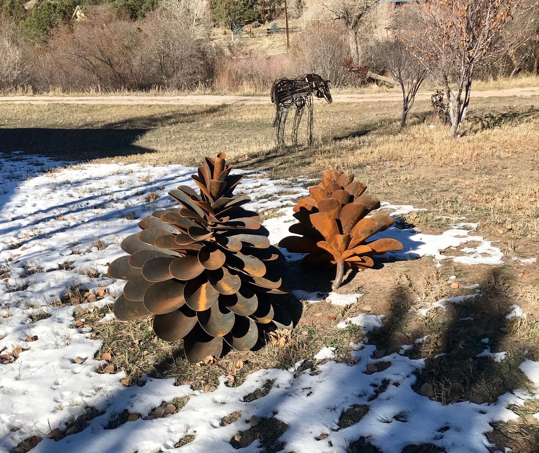 Classic Style Pine Cones