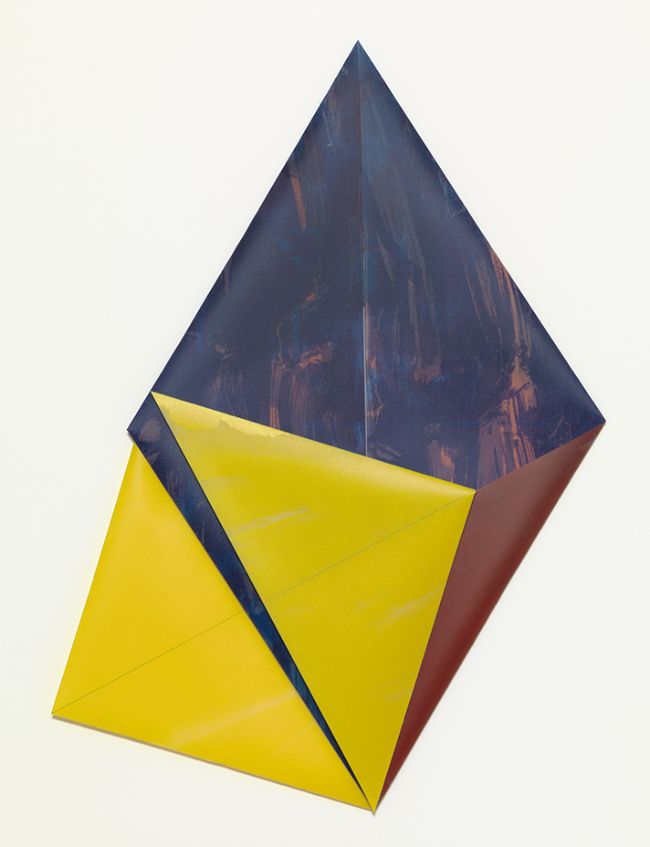 Dorothea Rockburne,  Radiance , 1982, lithograph, 28 1/4 × 20 in. © Dorothea Rockburne. Courtesy the artist / Artists Rights Society (ARS), NY