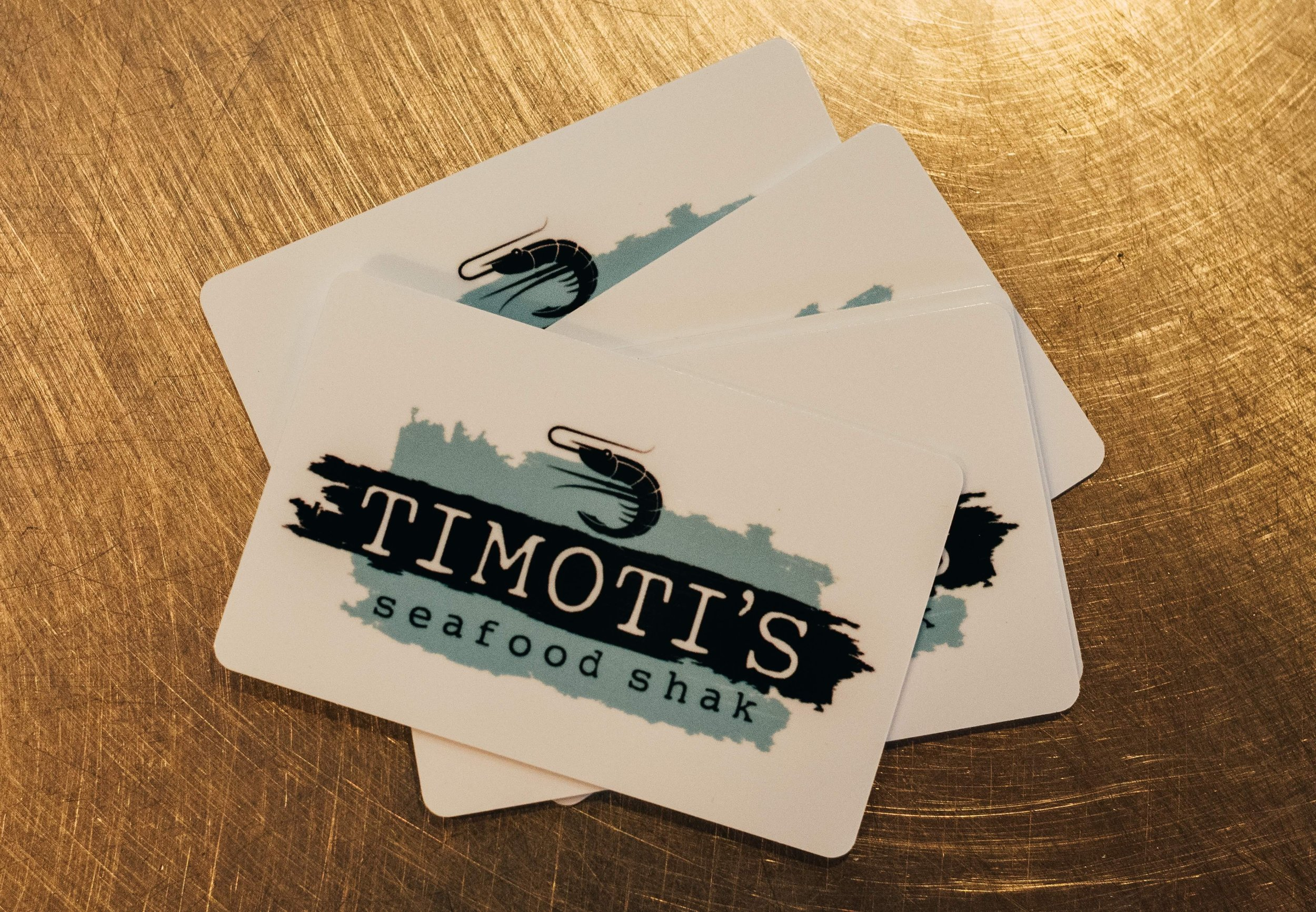 Gift cards! -