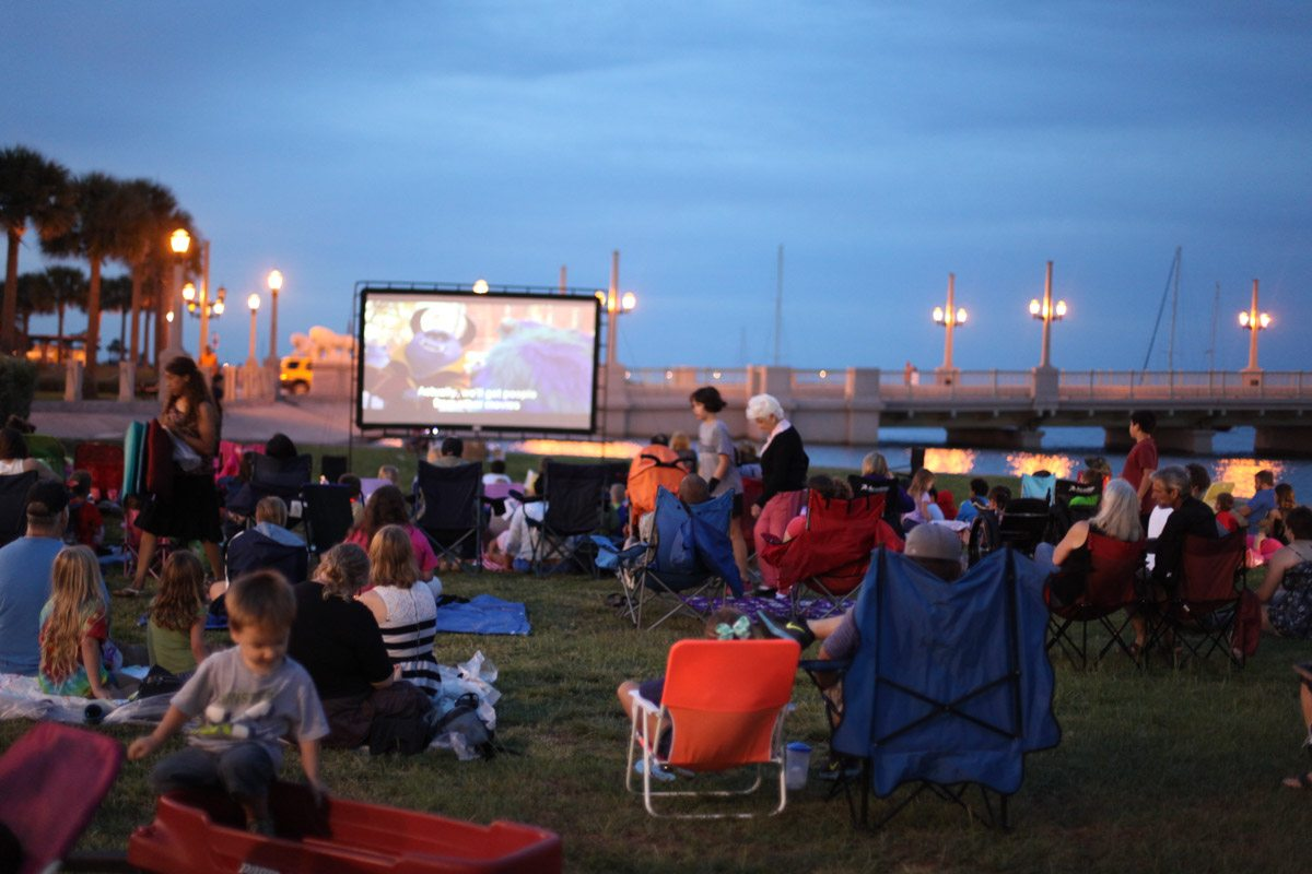 St. Augustine Events Movies by the Bay