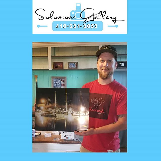 "Our ""Print Of The Day"" was taken by Dan Mumbert. Dan is a professional videographer and photographer, that we have printed for in the past. Dan has produced a couple of commercials for Solomons Gallery. In his own words, this is how this piece came to be. ""This long exposure shot was taken at the St Mary's College waterfront a little after midnight in August 2018. My sister called me up late one night and told me the fog was super thick across the St. Mary's River so I grabbed my camera and met her there to capture it. This photo was shot on a Sony a7r."" Instagram: @Danmumbert www.danielmumbert.com  #VeteranOwnedSmallBusiness #SolomonsGallery #SolomonsIsland #Artwork #ModernArtwork #MarylandPhotography #MetalPrinting #Photographer #TerryQuinn #CalvertCounty #StMarysCounty #BarnWoodFraming #CanvasPinting #SoMd #SoMdArtwork #CellPhonePics #GiftIdeas #DanMubert #StMarysCollege #Sonya7r #DanielMumbert"